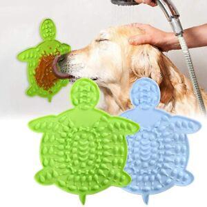 Dog Lick Mat 1/2Pcs, Dog Lick Pad with Strong Suctions to Wall Dog Licking Mat