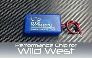 Performance Speed Chip Racing Torque Horsepower Power ECU Module for Wild West