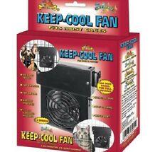 KEEP-COOL FAN - Pet Cooler Lazy Bones Dog Cat Animal Bird Cage Crate Summer dm