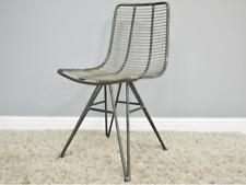 Designer Modernist Bauhaus Style Copper Metal Desk Dining Garden Patio Chair