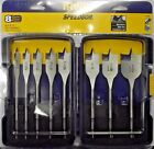 Irwin 341008 8 Piece Speedbor Spade Drill Bit Set  3/8