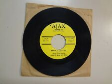 OVERTONES: Home Type Girl-There's A Girl Down The Way-U.S. 7' 67 Ajax Record 175