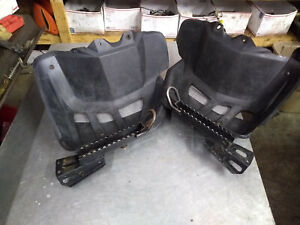 DS650 Heel Guards Brackets Can Am Bombardier 2000-2003