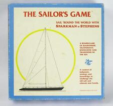 1986 The Sailor's Game Trivia Board Game Complete Sparkman Stephens Nautical HH