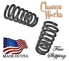 """1999-2007 Silverado Sierra 1500 2WD 3"""" Drop F Lowering Coil Springs Lowering Kit"""