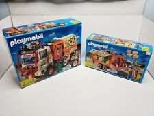 Rare Playmobil Dakar Offroad Rally Ralle Truck & Trailer Set 4420 4422 Germany