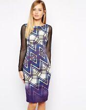 Karen Millen Long Sleeve Women's Acetate