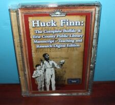 Huck Finn: The Complete Buffalo & Erie County Public Library Manuscript (CD-Rom)