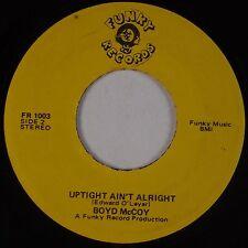 BOYD McCOY: Uptight / Locomotive Women FUNKY RECORDS 45 Funk Soul HEAR