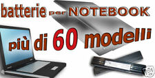 Batteria NOTEBOOK LiTIO 5200mAh per  TOSHIBA PA3107U-1BRS