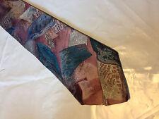 Pink Green Gray Tie Necktie WINDRIDGE ~ (10743)