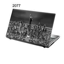 "TaylorHe 15.6"" Laptop Vinyl Skin Sticker Decal New York Landscape  2077"