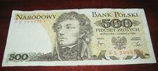 Banconote Europa/Polonia Narodowy Bank Polsky 500 Piecset Zlotych