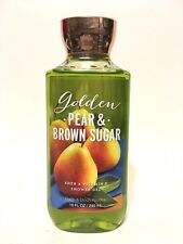 NEW 1 BATH & BODY WORKS GOLDEN PEAR BROWN SUGAR SHOWER GEL BODY WASH 10 FL OZ
