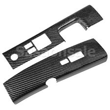 Made for 06-09 Nissan 350Z Z33 Carbon Fiber JDM Door Switch Rest Trim Covers