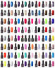 INFINITY NAILS UV/LED Nail Gel Polish Starter Kit 6W/9W/12W lamps - Top and Base