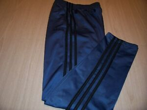 ADIDAS GRAY W/BLACK STRIPES ATHLETIC PANTS BOYS LARGE 14-16 EXCELLENT CONDITION