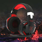 3.5mm Gaming Headset MIC LED Headphones for PC Laptop PS4 Pro Xbox One 360