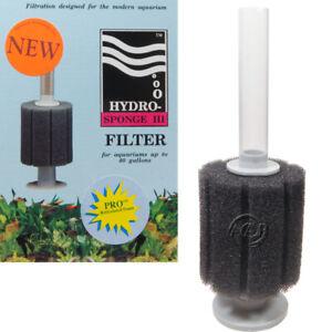 Hydro Sponge Filter 3 PRO; Patented Aquarium Filters, ATI/AAP Authorized Seller