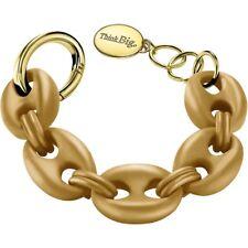 THINK BIG Bracciale donna Jewels Posh navy TBJ0015 marrone trendy chic moda