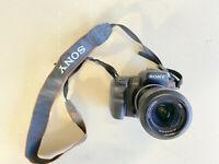 Sony Alpha DSLR-A200 10.2MP Digital SLR Camera - Black (Kit w/ DT 18-70mm Lens)
