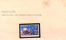 stamps INDONESIA A168 Adm. Sudarso and Battle of Arafuru MINT MNH