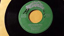 "Amagideon Time /Willie Williams - Roots  Reggae 45"" on StineJac Label 1982"