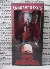 MEZCO Toyz 2017 Living Dead Dolls LDD Dawn of The Dead PLAID SHIRT ZOMBIE #95075