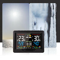 Digital Weather Station Wireless Temperature Humidity Date Calendar Thermometer
