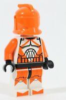 RARE MISPRINT - LEGO STAR WARS ORANGE BOMB SQUAD CLONE TROOPER MINIFIGURE 7913