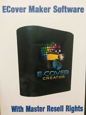 Ecover Creator EBook Cover Creation Softwar Private Label Rights Master Resell