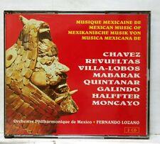 FERNANDO LOZANO - CHAVEZ, REVELTAS, VILLA-LOBOS, MABARAK - FORLANE 2xCDs NM