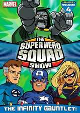 New: THE SUPER HERO SQUAD SHOW - The Infinity Gauntlet Vol. 4 DVD