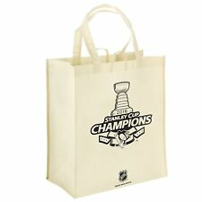Pittsburgh Penguins Hockey Team Logo NHL Stanley Cup Champions Reusable Tote Bag