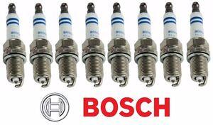 Set of 8 Bosch Platinum Spark Plugs 0242236615 6722 For Chevy Ford GMC Pontiac