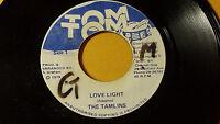 "The Tamlins - Love Light  /Reggae 7"" on TOM TOM Label"