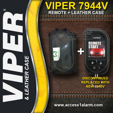 Viper 5906V HD SST 2-Way OLED Color Remote Control 7944V & Leather Case (7945V)