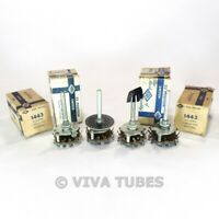 NOS NIB Vintage Lot of 4 CRL 1443 Tone Switches 23 Clipper 1 POL 23 POS