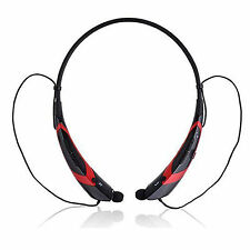 Wireless Bluetooth Headset Neckband Stereo Headphone For Samsung iPhone LG Moto