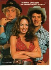John Schneider Catherine Bach teen magazine pinup clipping The Dukes of Hazzard