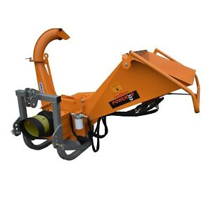 """Industrial Heavy Duty Commercial Wood Chipper - PTO Driven 3.5"""" / 90mm Capacity"""