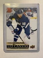 Andreas Johnsson 2018-19 Upper Deck Young Guns UD Canvas SP RC #C96 Maple Leafs