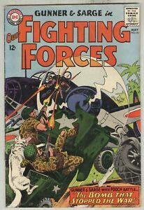 Our Fighting Forces #92 May 1965 VG