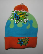 New with Tags NWT The Nick Box Winter Exclusive DOUBLE DARE Show Beanie/Knit Hat