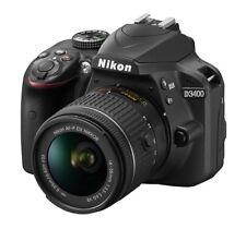 Spiegelreflexkamera Nikon D3400 24.2MP Schwarz Kit mit AF-P VR 18-55mm DEMOWARE