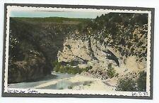 D135 Photo vintage Originale tinted colorisé Gorges du Verdon