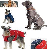 Ancol Muddy Paws Stormguard Waterproof Fleece Lined Dog Coat 3 Colours
