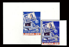 LIBERIA. Apollo 11. Moon Landing. 1969. Scott C184/500. Imperf. (BI#11)