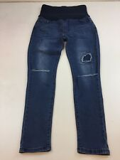 ada928dd1391a B269 Boohoo Women's Over The Bump Maternity Skinny Jeans Size 10 Good  Condition
