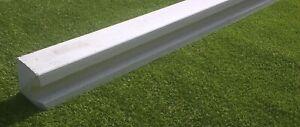 Reinforced Concrete End Fence Post 6ft, 7ft, 8ft, 9ft,